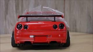 Download eac RC Body Build - Killerbody Nissan Skyline R34 GTR Video