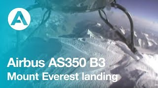 Download World Record - Mount Everest AS350 B3 landing Video
