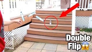 Download MOST INSANE WATER BOTTLE FLIPS! *LITERALLY BEST EVER* Video