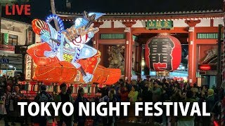 Download Tokyo Festival Rumbles through the Asakusa Streets Video