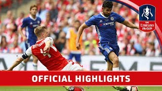 Download Arsenal 2-1 Chelsea - Emirates FA Cup Final 2016/17 | Official Highlights Video