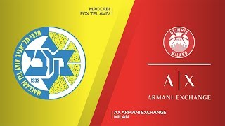 Download Maccabi FOX Tel Aviv - AX Armani Exchange Milan Highlights | EuroLeague, RS Round 20 Video