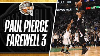 Download Paul Pierce Returns to The Game and Hits a Farewell Three Pointer in Boston | 02.05.2017 Video
