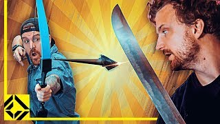 Download Can You Slice an Arrow Mid-air With a Sword? Video