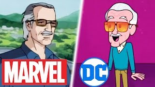 Download All Animated Stan Lee Cameos in Marvel & DC (R.I.P. 1922-2018) Video