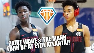 Download Zaire Wade & Tre Mann TEAM UP FOR ATL EYBL SESSION!! | Dwyane Wade WATCHES Zaire's EYBL Debut Video