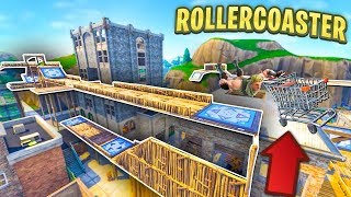 Download BUILDING AN EPIC ROLLERCOASTER in TILTED TOWERS in Fortnite Video