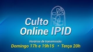 Download CULTO DOMINICAL (CEIA DO SENHOR) - PR. - 09:30 HORAS Video