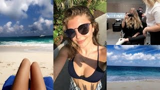 Download WEEKLY VLOG - dying my hair blonde & traveling to the Bahamas l Olivia Jade Video