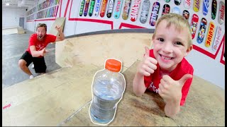 Download Father VS Son GAME OF BOTTLE FLIP! Video