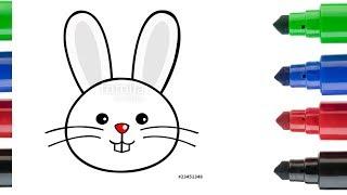 Download Tavşan Kafası Nasıl Çizilir? - Çocuklar İçin Resim Çizme ve Boyama Video