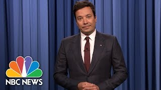 Download Jimmy Fallon In Emotional Charlottesville Monologue: 'We Can't Go Back'   NBC News Video