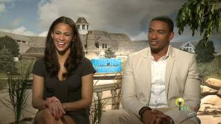 Download Laz Alonso and Paula Patton Interview for Jumping the Broom Video