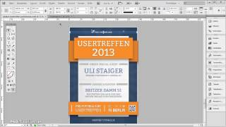 Download InDesign Tutorial: Illustratives Plakat erstellen - Strahleneffekt / Sunbeam || Teil 01 Video