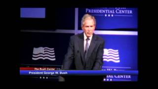 Download President George W. Bush introduces Dr. Condoleezza Rice Video