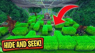 Download HIDE AND SEEK IN THE MAZE! *PLAYGROUND MODE!* | Fortnite Battle Royale Custom Games Video