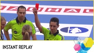 Download Referees consult instant replay   Netherlands vs Germany   EHF EURO 2016 Video