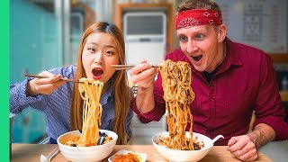 Download Korean NOODLE TOUR! Every kind of NOODLE in Seoul, South Korea! Video