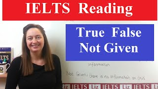 Download IELTS Reading Tips: True False Not Given Video