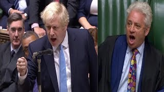 Download BREXIT PROROGATION SCUFFLE: Chaotic scenes as UK parliament suspended Video