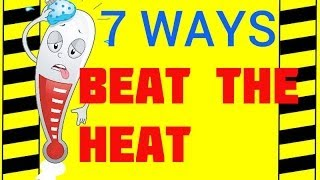 Download 7 Ways to Beat the Heat - Hot Weather Hazards - Preventing Illness & Deaths in Hot Environments Video