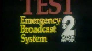 Download WCBS Emergency Broadcast System test 1980 Video