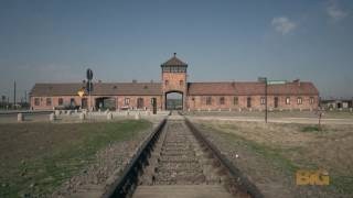 Download A drone just flew over Auschwitz and captured something incredibly powerful Video