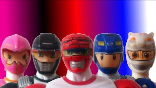 Download Toys Morph into Power Rangers Video