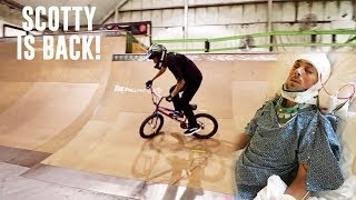 Download PARALYZED TO BMX BIKE RIDING IN 10 MONTHS! Video