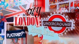 Download DIY: London Room Decor 2/ Декор комнаты|Fosssaaa Video