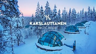 Download OFFICIAL - Kakslauttanen Arctic Resort in wintertime Video