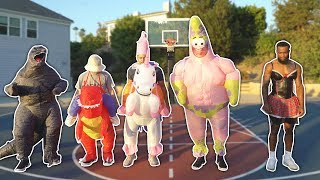 Download The WEIRDEST game of BASKETBALL EVER... Video
