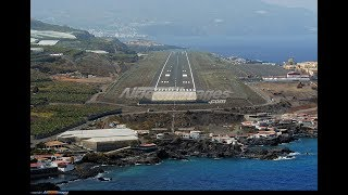 Download Airbus A320 - Approach and Landing in La Palma - tricky NDB/DME approach (ENG Sub) Video