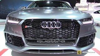 Download 2018 Audi RS7 - Exterior and Interior Walkaround - 2017 LA Auto Show Video