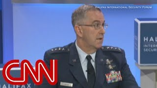 Download Top general: I'd resist illegal nuclear order from Trump Video