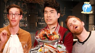 Download The Try Guys Eat $1,200 Of Gourmet Seafood • Try Australia Video