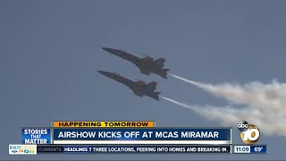Download Air show starts Friday at MCAS Miramar Video
