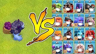 Download YETI vs ALL TROOPS ″Clash Of Clans″ TROLL ATTACKS!! Video