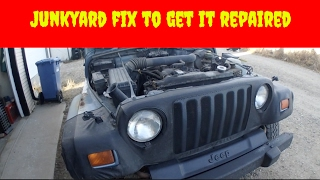 Download Shitshow Jeep Junkyard Fixing Video