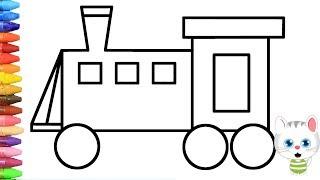 Hamburger Nasıl çizilir çocuklar Için Eğlenceli Boyama Boya