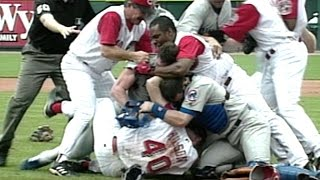 Download Inside pitch leads to the benches clearing Video