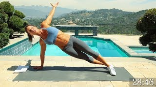 Download Full Body Workout - Full Body Workout At Home - Total Body No Weights Workout - No Equipment Workout Video