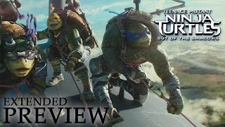 Download TEENAGE MUTANT NINJA TURTLES: OUT OF THE SHADOWS | Extended Preview Video