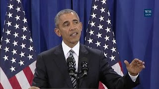 Download President Obama Delivers Remarks on the Administration's Approach to Counterterrorism Video