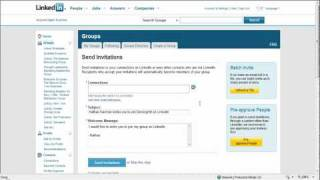 Download LinkedIn Group Creation Video