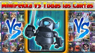 Download MiniPekka VS Todas las Cartas | Clash Royale Video