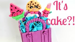 Download Shopkins Cake ~ Edible Melonie Pips, Kooky Cookie & Lippy Lips - CAKE STYLE Video