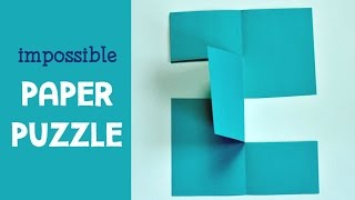Download Impossible Paper Puzzle Trick Video