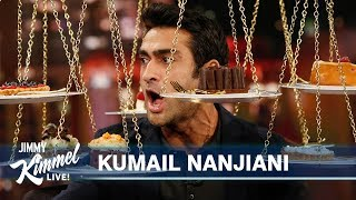 Download Kumail Nanjiani Has Pizza & Cake for First Time in a Year Video