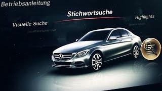 Download Mercedes C Class W205 2014 Comand APS Navigation System Menu on Detail C220 Cdi Diesel Video